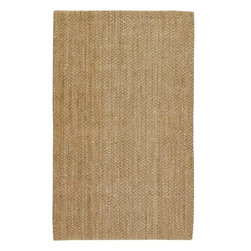 Country Living - Country Living Country Jutes Natural Fiber Hand Woven Rug X-85-1002JTC - Another inspired ensemble from Country Living, the Country Jutes Collection exemplifies the essence of casual style. Hand-woven from all natural jute in monochromatic shades of beige, each rug combines fibers to create a variety of patterns that exude a simple elegance ideal for traditional to transitional interiors.