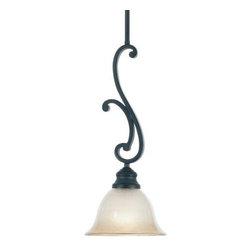 Designers Fountain - Designers Fountain 96130 Barecelona Down Lighting Mini Pendant with Ochere finis - Features: