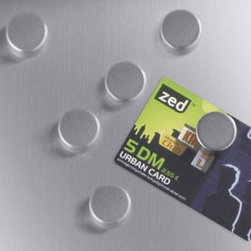 ZACK - Cult Magnet (Set of 6) - Features: -Matte finish. -Material: 18 / 10 Stainless steel. -Designed in Germany.