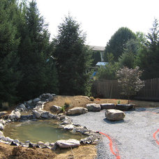 Contemporary  by Weavers Landscape Company