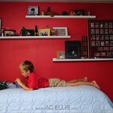 Modern Bedroom Picture Ledges
