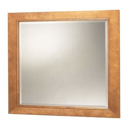 Foremost - Foremost Exhibit 34 Inch Mirror in Rich Cinnamon Finish - Foremost Exhibit 34 Inch Mirror in Rich Cinnamon Finish