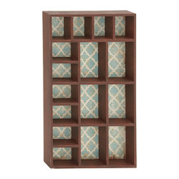 Multi-Purpose Wood Wall Storage Shelf - Description: