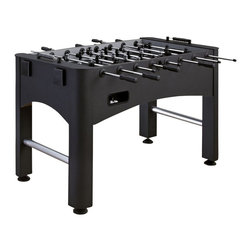 Home Styles - Home Styles Modern Pro Foosball Game Table in Black and Silver - Home Styles - Multi-Game Tables - 600100 - Bring on the competition with the Home Styles Modern Pro Foosball Game Table! The Modern Pro Foosball Game Table is the perfect foosball table for a player of any skill set. Whether you're a pro or an amateur, don't miss out on hours of family fun with the Home Styles Pro Foosball Table!
