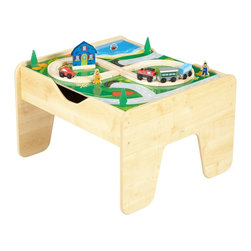 KidKraft - 2 In 1 Activity Table With Board by Kidkraft - Our 2-in-1 Activity Table with LEGO -Compatible Board is a fun gift idea for any young, imaginative child. The table will fit in any room of the house and parents are sure to love how it keeps playtime off the floor.