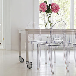 Clear Side Chair -