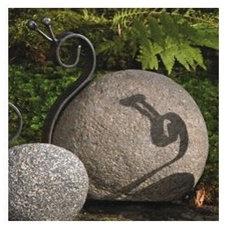 Eclectic Garden Sculptures Garden Decor