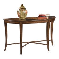 Magnussen - Magnussen Kingston Demilune Sofa Table - Magnussen - Console Tables - T117175