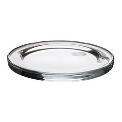 IKEA of Sweden - JOKER Candle dish - Candle dish, clear glass