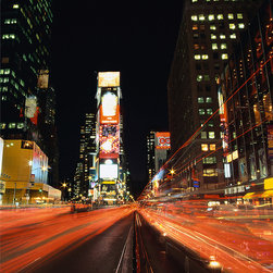 WallPops - Times Square Design Photo Panel Wall Decals - Have the lights and sounds of the Big Apple in your home with this stylish Times Square themed photo panel.  Featuring all the colors and the atmosphere that you have come to expected from New York, this mural does the city it is suppose to represent total justice.  This peel and stick mural is perfect for the casual decorator, easy to apply, remove and reposition, anybody can spice up their walls with ease.