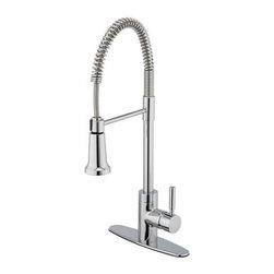 Estora - Pull -Down Kitchen Faucet Chrome - Estora 15-51121 Pull -Down Kitchen Faucet Chrome