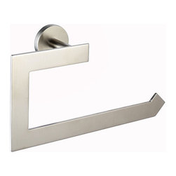 Kraus - Kraus Imperium Bathroom Accessory - Towel Ring Brushed Nickel - Kraus offers an elite selection of bathroom accessories that are guaranteed to exceed industry trends and revolutionize your home into the modern marvel it is destined to be