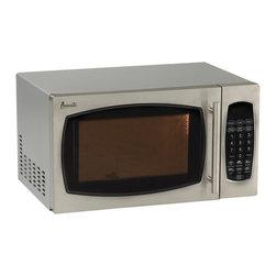 Avanti - Avanti 0.9 Cubic Foot Stainless Steel Finish Touch Microwave - Avanti 0.9 cubic foot stainless steel finish touch microwave.