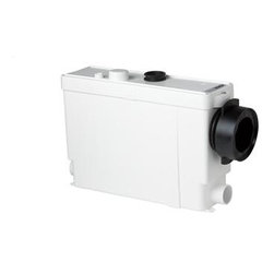 Saniflo - Saniflo 011 Macerating Pump For In Wall Frame Systems White - The Sanipack is built into a wall cavity provided by a concealed frame system. The reservoir is also built into the wall and all the user sees is a large push button that activates the flush. The Sanipack is a system that is used to install a complete bathroom up to 9 feet below the sewer line, or even up to 100 feet away from a soil stack.Since the reservoir, the macerating pump and the pipes are hidden from view, this type of installation gives you the lean and clean look of a European bathroom. The Sanipack is simplicity itself to install; there are just four connections:    - The macerating pump is connected to the discharge pipe coming from the wall hung toilet.    - The toilet tank is connected to the water supply.    - The macerating pump is connected to small diameter discharge pipe work.    - The macerating pump is connected to electrical supply.