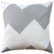 Modern Bed Pillows And Pillowcases by Greige