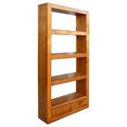 free standing danish teak shelving units midcentury. Black Bedroom Furniture Sets. Home Design Ideas