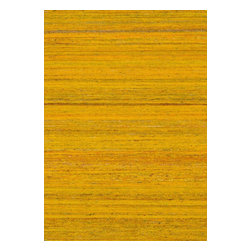 "Loloi Rugs - Loloi Rugs Resama Collection - Goldenrob, 5' x 7'-6"" - Loloi's one-of-a-kind Resama Collection features flat-woven dhurrie designs that are integrated with vintage silk saris within the weave. Each unique piece features an array of vibrant colors, sure to brighten up any room."