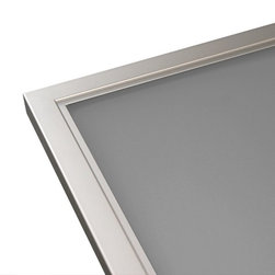Custom Kitchen Aluminum Cabinet Doors - •Largest selection of Aluminum Frames in the North American market