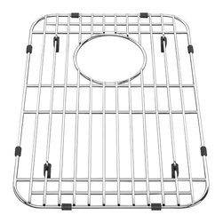 American Standard - Bottom Grid 10.13 inch x 15 inch Kitchen Sink Rack in Stainless Steel - American Standard 8445.101500.075 Bottom Grid 10.13 inch x 15 inch Kitchen Sink Rack in Stainless Steel.