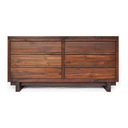 Teak Me Home - Bennett Dresser - Solid Reclaimed Teak Wood - 100% Solid Reclaimed Teak Wood