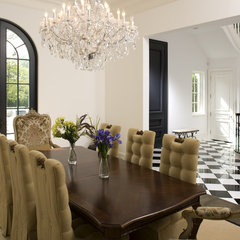 eclectic dining room by John Kraemer & Sons