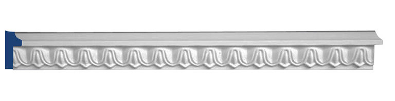"Inviting Home - Metairie Decorative Panel Molding - Metairie decorative panel molding 1-3/4""H x 5/8""P 4 piece minimum order required This panel molding is made from high density polyurethane. The front surface of this molding has extra durable and smooth and is pre-primed with water-based white paint. POlyurethane is lightweight durable and easy to install using common woodworking tools. Metal dies were used for consistent quality and perfect part to part match for hassle free installation. This molding has sharp deep and highly defined design. This panel molding can be finished with any quality paints."