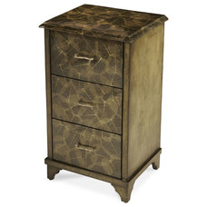 eclectic storage units and cabinets by Carolina Rustica