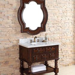 "36"" Castilian Single Bath Vanity -"