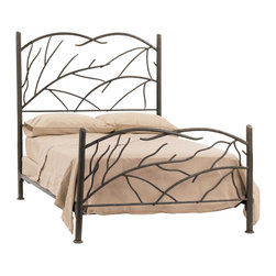 Norfolk Wrought Iron Bed By Stone County - This is probably my favorite bed in the collection. There's just something undeniably cool about this bed!