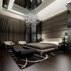 modern bedroom by Yasser Moustafa