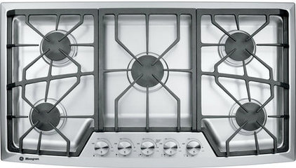 "Gas Ranges And Electric Ranges 36"" STAINLESS STEEL GAS COOKTOP ZGU385NSMSS"