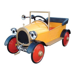 Airflow Collectibles - Brum Pedal Car - Brum Pedal Car ride on toys for toddlers