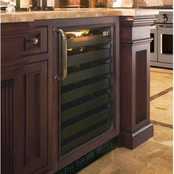 GE Monogram® Wine Reserve - Custom-Panel Option — Lets you coordinate models with cabinetry for a look of elegant understatement