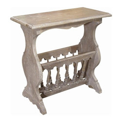 Trade Winds - New Trade Winds Magazine Table Riverwash - Product Details