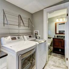 Craftsman Laundry Room by RI Kitchen & Bath
