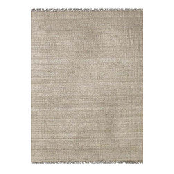 Hand-Woven Bleached Jute Rug - I have found many great and affordable jute rugs at Overstock. I particularly like this bleached, handwoven one.