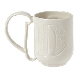 Alphabet Mug, Letter D - After dinner and dessert are finished, I'd love to enjoy a cup of coffee or hot chocolate from one of these monogrammed mugs.