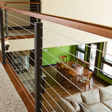 Contemporary Staircase by Stair Supplies