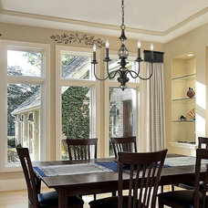 Contemporary Window Treatments by Whispar Design