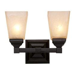 Trans Globe Lighting - Trans Globe Lighting 20332 BK Bathroom Light In Black - Part Number: 20332 BK