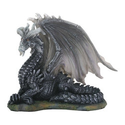 Summit - Dark Dragon (Black) Collectible Serpent Figurine Sculpture Statue Art - This gorgeous Dark Dragon (Black) Collectible Serpent Figurine Sculpture Statue Art has the finest details and highest quality you will find anywhere! Dark Dragon (Black) Collectible Serpent Figurine Sculpture Statue Art is truly remarkable.