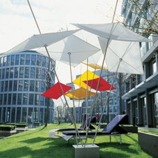 Contemporary Outdoor Umbrellas by exquisit24.de