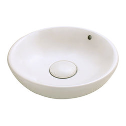 MR Direct - MR Direct v340 Porcelain Sink, Bisque - Our extensive line of porcelain sinks will compliment any decor from the traditional to the unique. Our porcelain sinks are true vitreous china with a triple laid glaze to create the strongest sink you will find. Our porcelain sinks are extremely low maintenance. Our porcelain sinks are covered by a limited lifetime warranty.