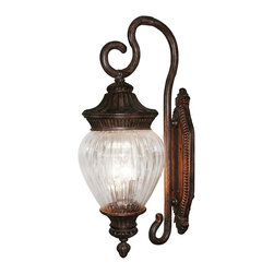 Z-Lite - Devonshire Weathered Bronze Outdoor Wall Light - Light bulbs not included