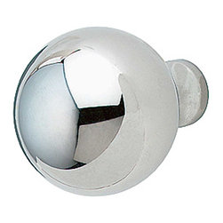 """Renovators Supply - Cabinet Knobs Bright Chrome 1-1/4"""" Dia Ball Cabinet Knob - This chrome ball cabinet knob is 1-1/4"""" in diameter."""