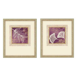 Paragon Art - Paragon Lavender Script II ,Set of 2 - Artwork - Lavender Script II ,Set of 2   ,  Paragon Shadow Box           Artist is Morey , Paragon has some of the finest designers in the home accessory industry. From industry veterans with an intimate knowledge of design, to new talent with an eye for the cutting edge, Paragon is poised to elevate wall decor to a new level of style.
