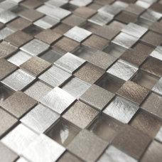 Contemporary Mosaic Tile by Eden Mosaic Tile