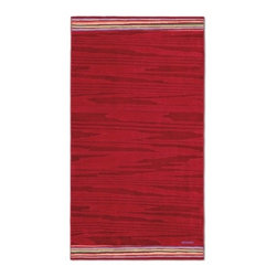 Missoni Home - Missoni Home | Liam Red Beach Towel - Design by Rosita Missoni.