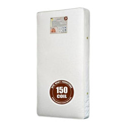 AFG Baby - AFG Baby 150 Coil Mattress - 150 Heavy 15. 5 Gauge Steel Coils with 9 gauge border wire for extra firm support.