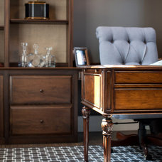Traditional Home Office by Jenkins Baer Associates